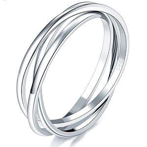 3 .925 Interlocking Rolling Rings